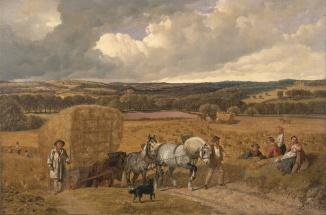 John_Frederick_Herring_-_The_Harvest_-_Google_Art_Project