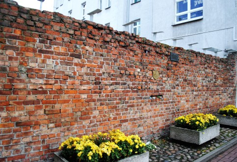 Ghetto wall.