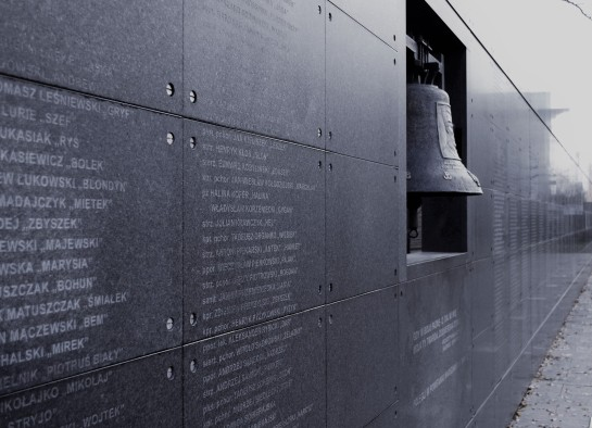 Uprising Museum: Memorial Wall.