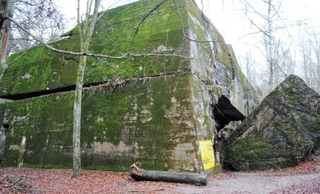 Goering's bunker.